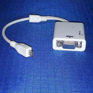 HDMI Male to VGA Female Video Adaptor Cable