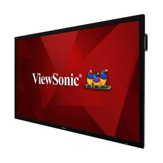 "VIEWSONIC 75"" 4K ULTRA HD COMMERCIAL DISPLAY"