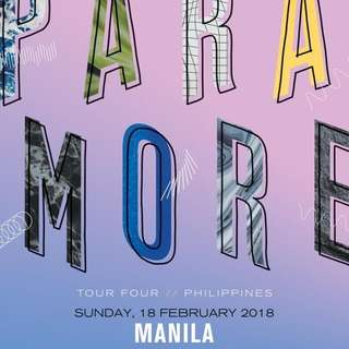 LF: 2 VIP Paramore ticket