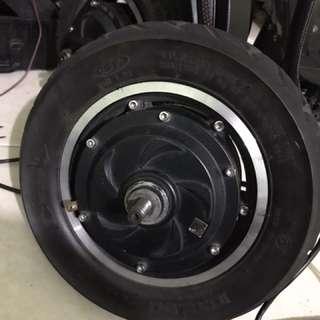 Untagged motor