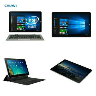 🆒🆕 CHUWI Official! 10.8 Inch CHUWI Hi10 Plus Tablet PC Windows 10 Android 5.1 Dual OS Intel Atom Z8350 Quad Core 4GB RAM 64GB ROM with Black Keyboard