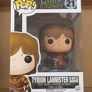 Game of Thrones Tyrion Lannister #21 Funko Pop