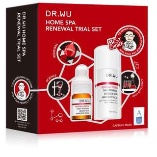 Dr wu home spa renewal trial set