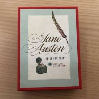 Jane Austen Notecards