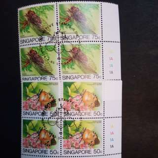 Singapore stamps. 7 set.