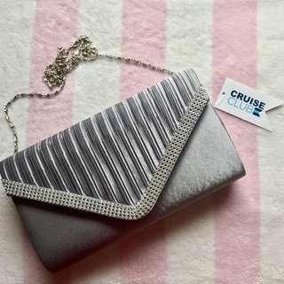Cruise Club Evening Bag - Silver