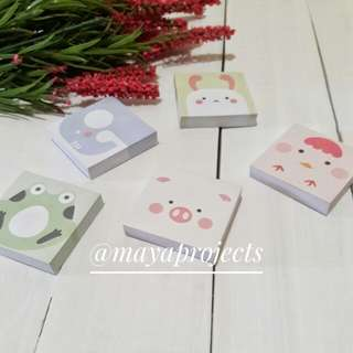 Mini Notepad Set
