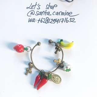 gelang bandul carm bracelet katolik