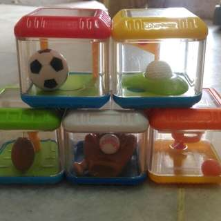 Fisher price cubes