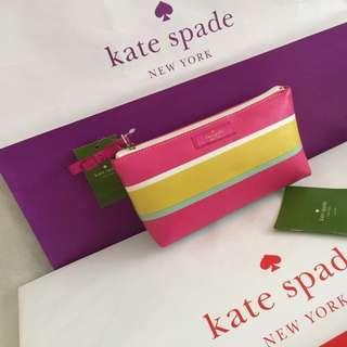 Kate Spade Cosmetics pouch