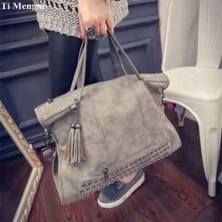 Tassel Women Classic Hand Bag