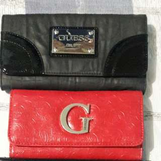 Guess Black Leather Wallet