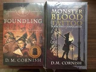 Monster Blood Tattoo Series