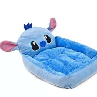 STITCH Pet Bed / Dog Bed (Free dog blanket!)