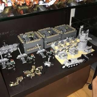 Customized Lego Compatible WW2 German army set army
