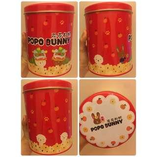 現貨 新年版《花花邦妮》爆谷 地鐵站 MTR 交收!🚆 焦糖 Popo Bunny 爆米花 新年送禮 🎁🐰🍿