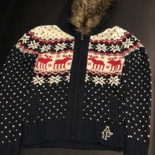 Abercrombie Zip Up Hoodie Christmas