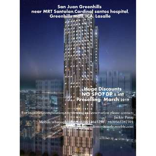 Ready For Occupancy an Preselling Condominium in Metro Manila Prime Location.