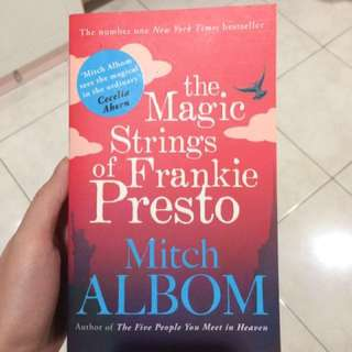 Mitch Albom's Book! New! The Magic Strings of Frankie Fresto