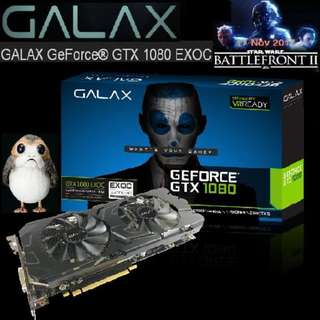 Galax GTX 1080 EXOC 8GB..
