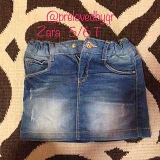 Jeans Mini Skirt ZARA RM20