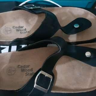 Cedar Wood Sandals