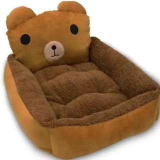 RILAKKUMA Pet Bed / Dog Bed (Free dog blanket)