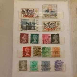 加拿大郵票