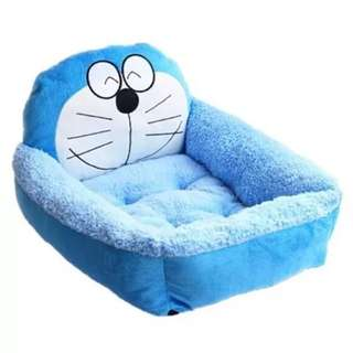 DORAEMON Pet Bed / Dog Bed (Free dog blanket)