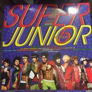Super Junior 5輯 Mr. Simple 連海報 9成新 晟敏封面