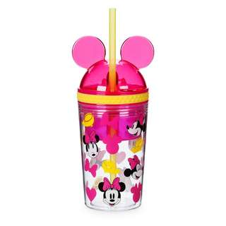 Minnie Mouse Tumbler with Snack Cup and Straw