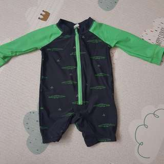 Preloved swimwear for toddlers from cotton on kids (6 to 12 months old)