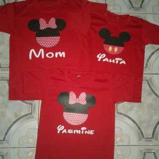 Mickey Family Shirt