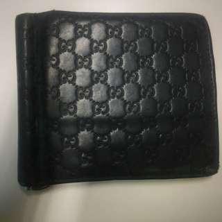 Gucci Sima Leather Folio Wallet