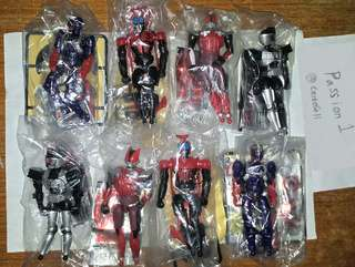 Decade Den-o Kabuto Hibiki Kamen Rider Super Transform/masked