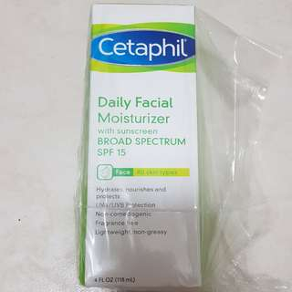 Cetaphil Daily Facial Moisturizer SPF 15 Broad Spectrum