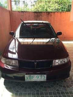 Mitsubishi lancer glx 2001 model