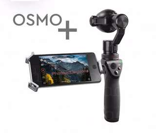 Dji Osmo Plus 4K recording