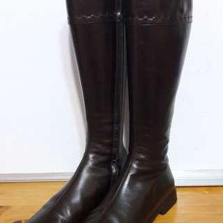 S'Max Mara 啡色長boots