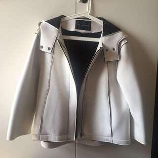 2143 白色太空棉外套
