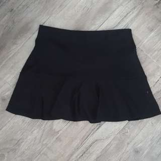 Drop Waist Black Skirt