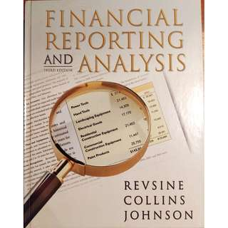 Financial Reporting and Analysis (3rd Ed) by Lawrence Revsine, Daniel W. Collins & W. Bruce Johnson