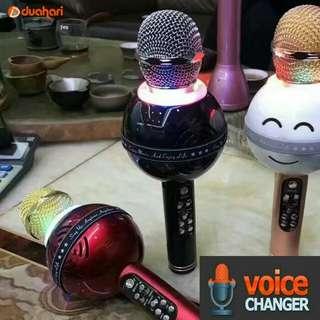 Mic WS 878 wireless bluetooth karaoke player microphone speaker KTV US