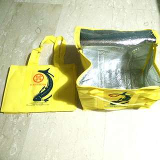 BN Yellow Song Fish Cooler Bag