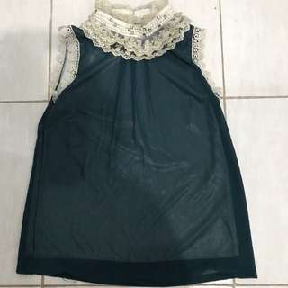 Green mutiara hijau baju top