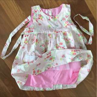 BN Floral Doll Dress 4Y