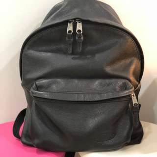 Eastpak Full Grained Leather Backpack