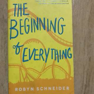 The Beginning of Everything (used)