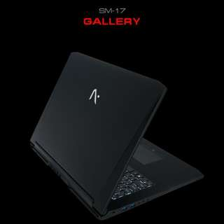 Aftershock SM17 Gaming laptop