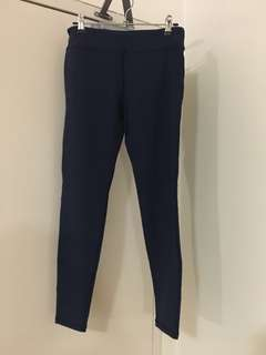 Bloch tights activewear Navy colour Size M
